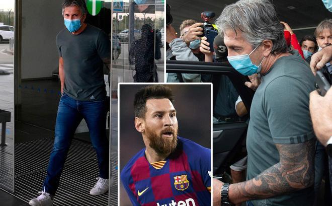 Messi nhất quyết rời Barca: