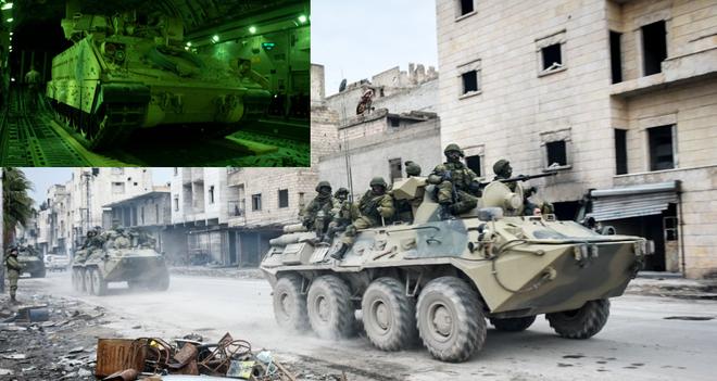 Bị Nga uy hiếp, QĐ Mỹ tung khí tài hiện đại áp trận ở Syria, nào ngờ cửa tử chờ sẵn? - Ảnh 1.