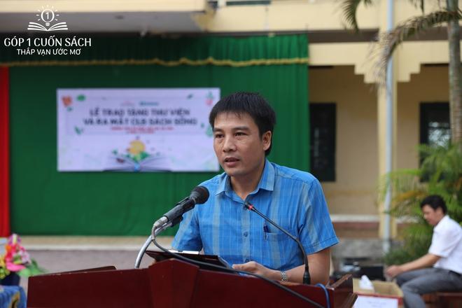 Trao tặng sách trên quê hương danh nhân văn hóa Vũ Diệm - Ảnh 7.