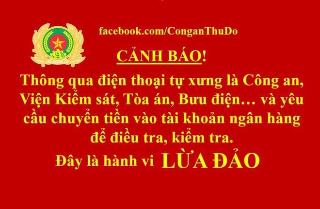 Người phụ nữ ở quận Thanh Xuân bị lừa mất 7 tỷ đồng vì kẻ tự xưng cán bộ bưu chính, Công an TPHCM - Ảnh 1.