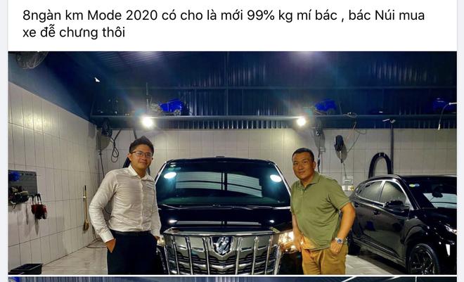 Rộ tin Nguyễn Quốc Cường bán Toyota Alphard: Xe lăn bánh 10 tháng, ODO gây ngạc nhiên - Ảnh 1.