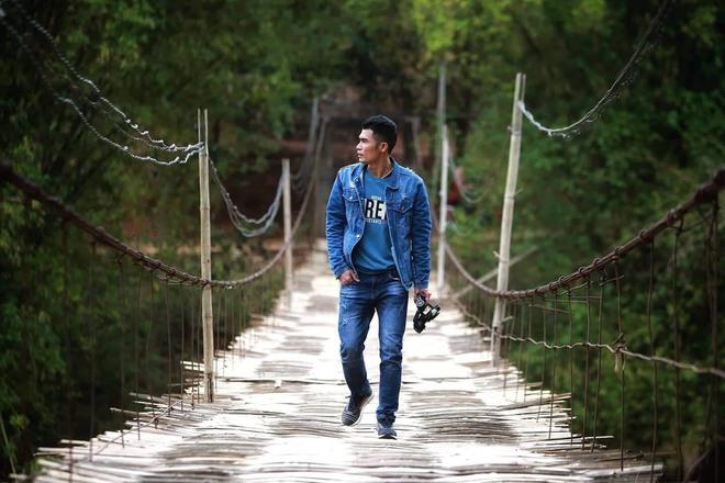 Kinh doanh lỗ gần 1 tỷ đồng, chàng trai Bắc Giang đi bộ xuyên Việt 65 ngày bỏ lại tất cả sau lưng - Ảnh 1.