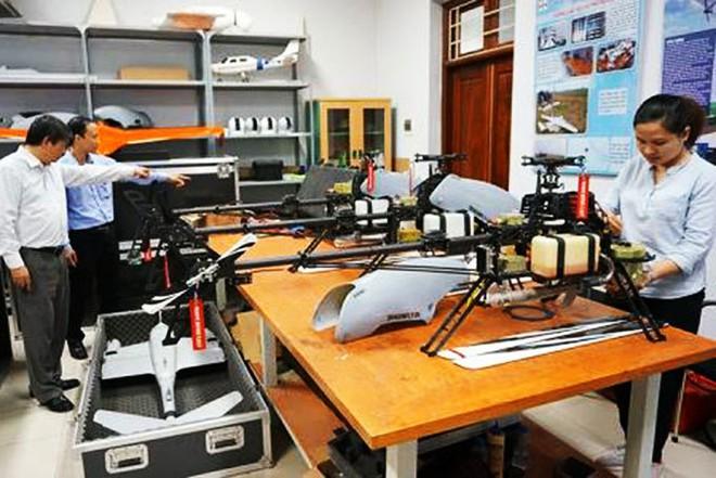"""Trực thăng không người lái """"made in Vietnam"""" đã sẵn sàng thương mại hóa - Ảnh 2."""