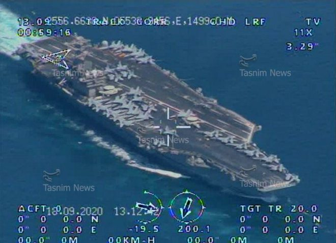 Iran công bố chấn động về tàu sân bay Mỹ ở eo biển Hormuz: Hậu quả thảm khốc nếu nổ súng! - Ảnh 2.