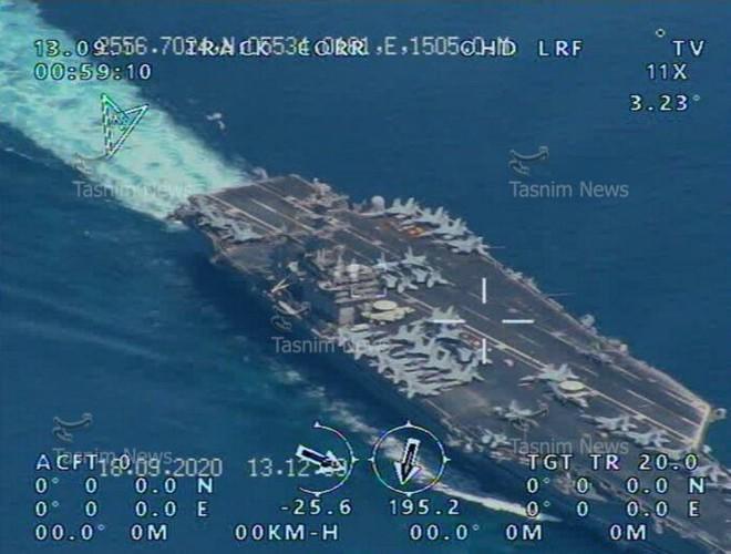 Iran công bố chấn động về tàu sân bay Mỹ ở eo biển Hormuz: Hậu quả thảm khốc nếu nổ súng! - Ảnh 3.