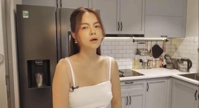 Phạm Quỳnh Anh khoe căn hộ tiện nghi sau 2 năm ly hôn ông bầu đình đám - Ảnh 4.