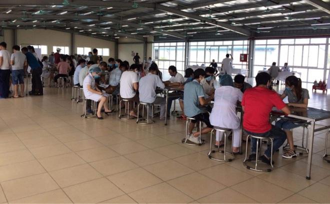 Gần 70 công nhân Công ty TNHH Quảng Phong Việt Nam có triệu chứng bệnh về thần kinh