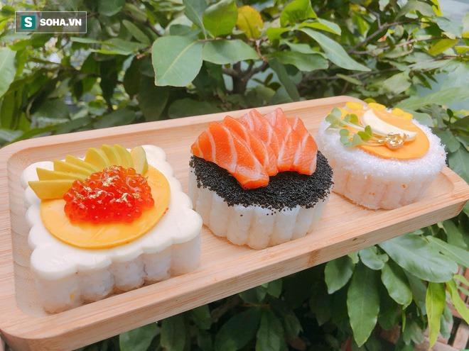 Tạo ra bánh trung thu nhân sushi chưa từng có, cô gái 9X chỉ nhận làm 5 hộp/ngày mặc doanh thu có thể hơn 100 triệu đồng - Ảnh 3.