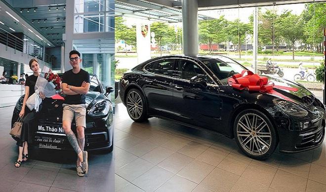 """Thân thế """"đỉnh"""" của CEO điển trai đăng ảnh siêu xe 5 tỷ của người yêu bị nhầm là mang tặng - Ảnh 1."""