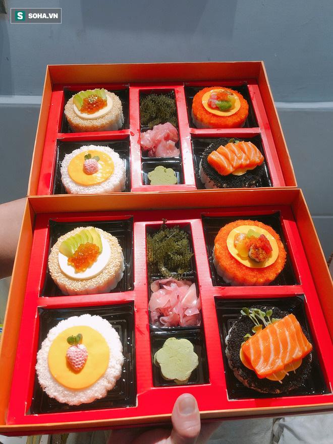Tạo ra bánh trung thu nhân sushi chưa từng có, cô gái 9X chỉ nhận làm 5 hộp/ngày mặc doanh thu có thể hơn 100 triệu đồng - Ảnh 6.