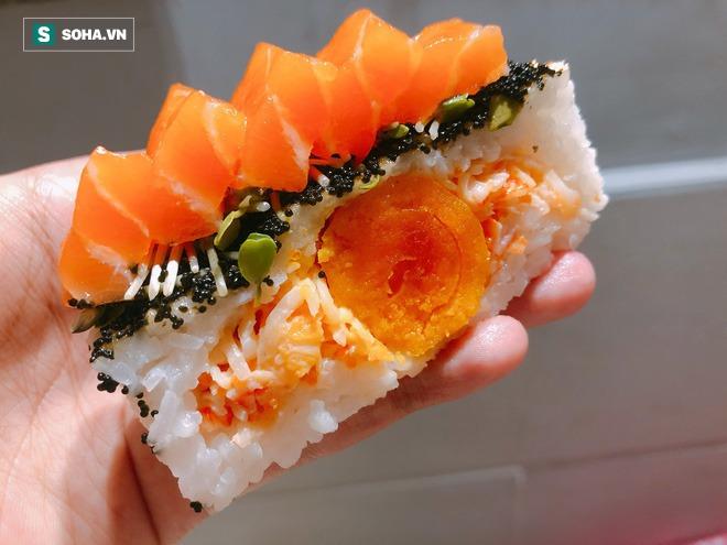Tạo ra bánh trung thu nhân sushi chưa từng có, cô gái 9X chỉ nhận làm 5 hộp/ngày mặc doanh thu có thể hơn 100 triệu đồng - Ảnh 8.