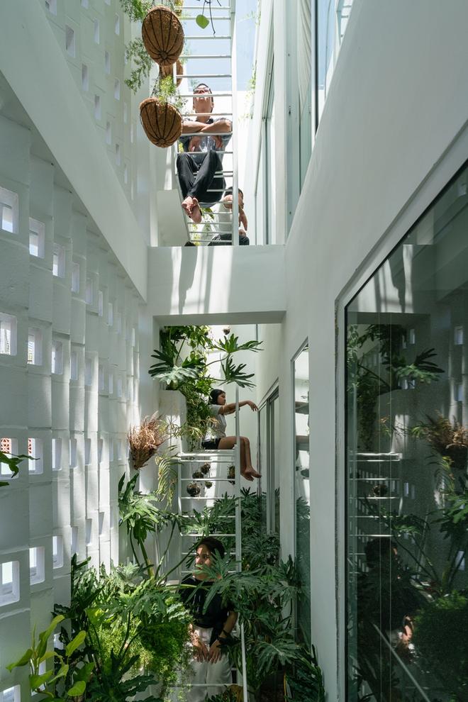 Kiệt tác kiến trúc trong ngôi nhà có mặt tiền đầy nếp gấp - Ảnh 15.