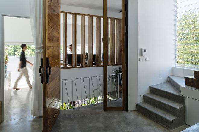 Kiệt tác kiến trúc trong ngôi nhà có mặt tiền đầy nếp gấp - Ảnh 10.