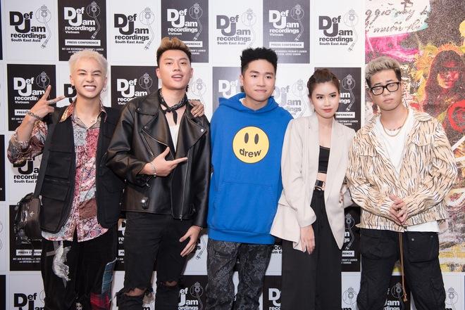 Thí sinh Rap Việt, King Of Rap cùng hội ngộ ủng hộ sản phẩm mới của Obito - Ảnh 3.
