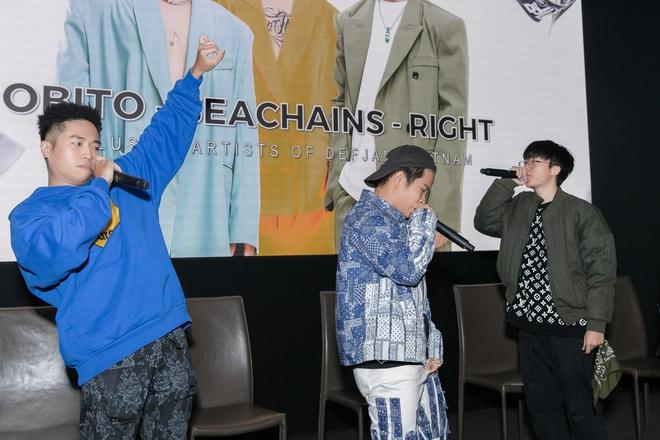 Thí sinh Rap Việt, King Of Rap cùng hội ngộ ủng hộ sản phẩm mới của Obito - Ảnh 2.