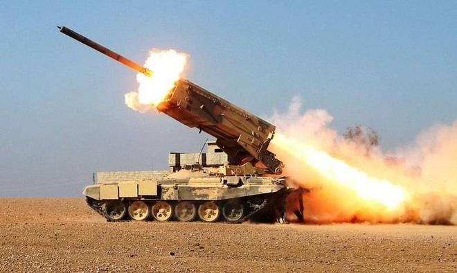 Nga chỉ thị mục tiêu cho Quân đội Syria tấn công, phiến quân khiếp đảm - Saudi bắn hạ UAV lạ của Houthi - Ảnh 1.