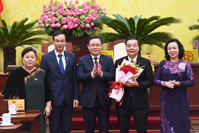 Ông Chu Ngọc Anh được bầu làm Chủ tịch UBND TP Hà Nội - Ảnh 1.