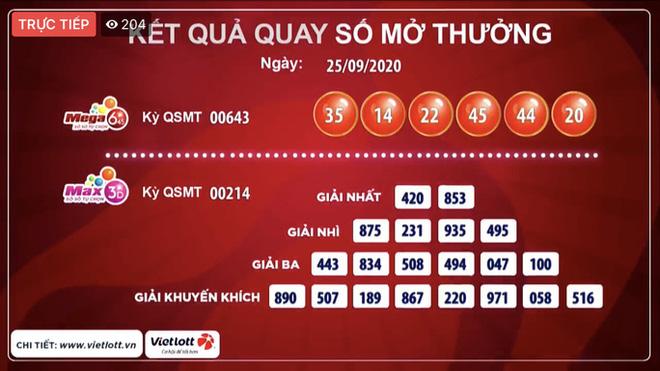 Hà Nội có vé Vietlott trúng độc đắc 39,1 tỉ đồng - Ảnh 1.