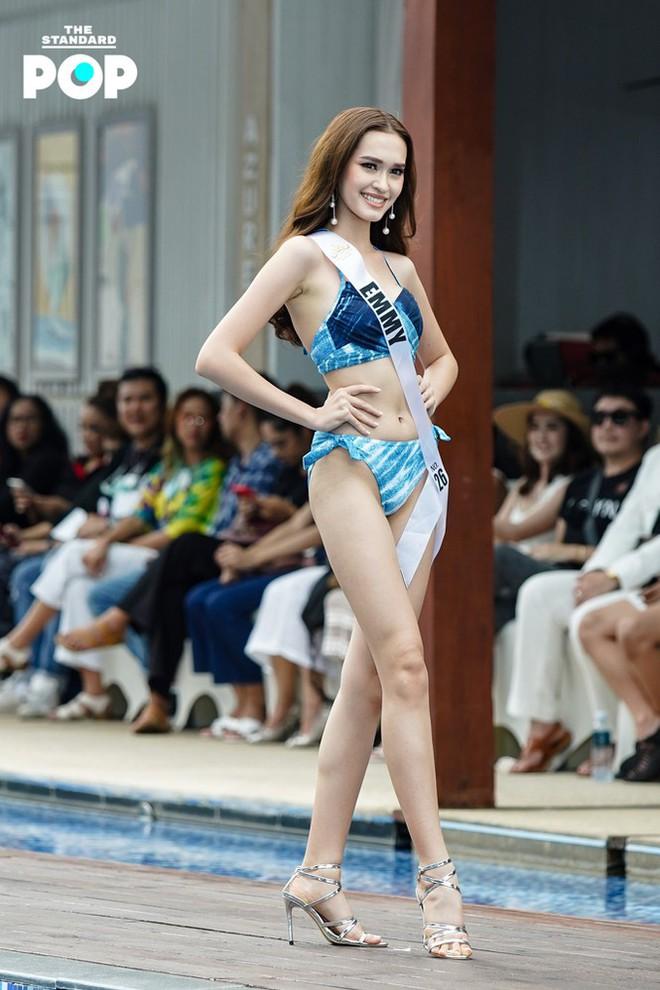Dàn thí sinh Miss Universe Thái Lan 2020 khoe dáng nóng bỏng khuấy động phần thi bikini - Ảnh 11.