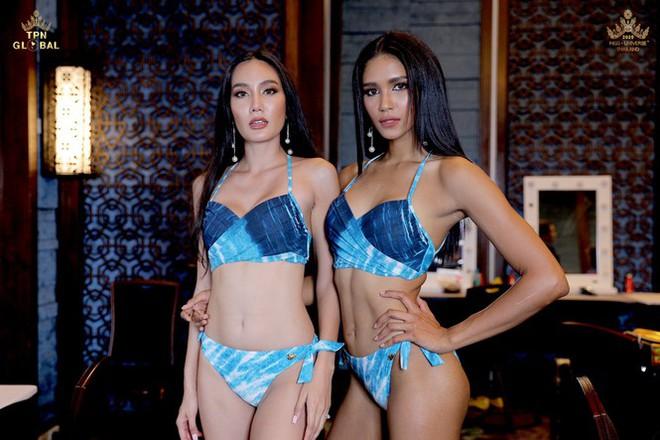 Dàn thí sinh Miss Universe Thái Lan 2020 khoe dáng nóng bỏng khuấy động phần thi bikini - Ảnh 12.