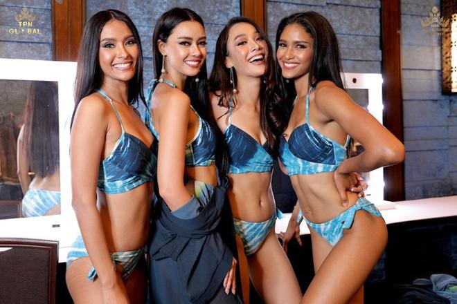 Dàn thí sinh Miss Universe Thái Lan 2020 khoe dáng nóng bỏng khuấy động phần thi bikini - Ảnh 8.