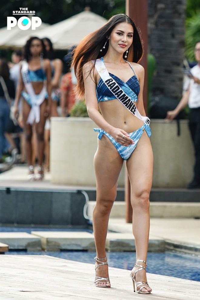 Dàn thí sinh Miss Universe Thái Lan 2020 khoe dáng nóng bỏng khuấy động phần thi bikini - Ảnh 10.