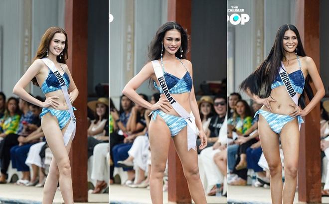 Dàn thí sinh Miss Universe Thái Lan 2020 khoe dáng nóng bỏng khuấy động phần thi bikini