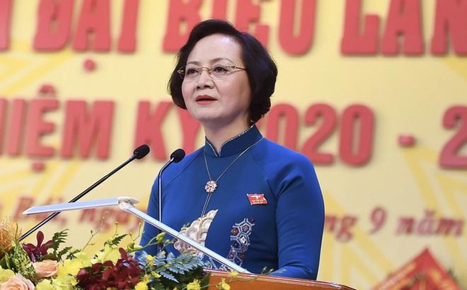 Bí thư Yên Bái nhiệm kỳ 2015 - 2020 Phạm Thị Thanh Trà làm Thứ trưởng Bộ Nội vụ