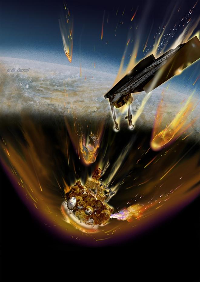 Cầu lửa chứa 50kg Uranium lao không kiểm soát xuống Trái Đất: Tử thần hạt nhân gây hậu quả gì? - Ảnh 2.