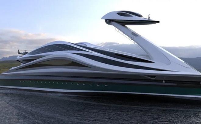 Siêu du thuyền 500 triệu USD này lấy cảm hứng từ anime và có thiết kế trông như một chú thiên nga