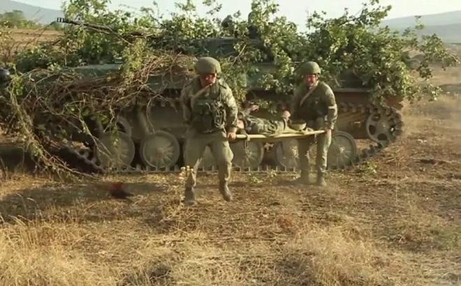 Xem lính Nga thể hiện kinh nghiệm thực chiến ở Syria