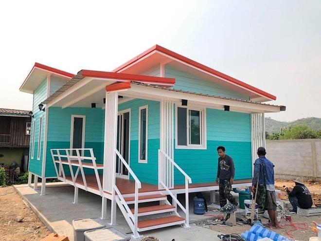 Những căn nhà có chi phí xây dựng chỉ từ 50 triệu đồng vẫn đẹp long lanh - Ảnh 3.