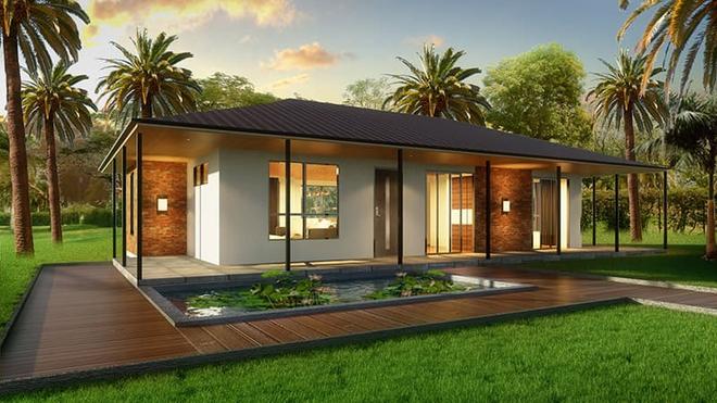 Những căn nhà có chi phí xây dựng chỉ từ 50 triệu đồng vẫn đẹp long lanh - Ảnh 1.