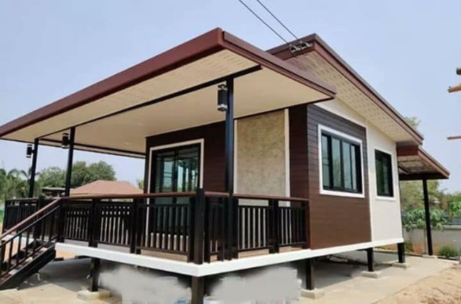 Những căn nhà có chi phí xây dựng chỉ từ 50 triệu đồng vẫn đẹp long lanh - Ảnh 2.