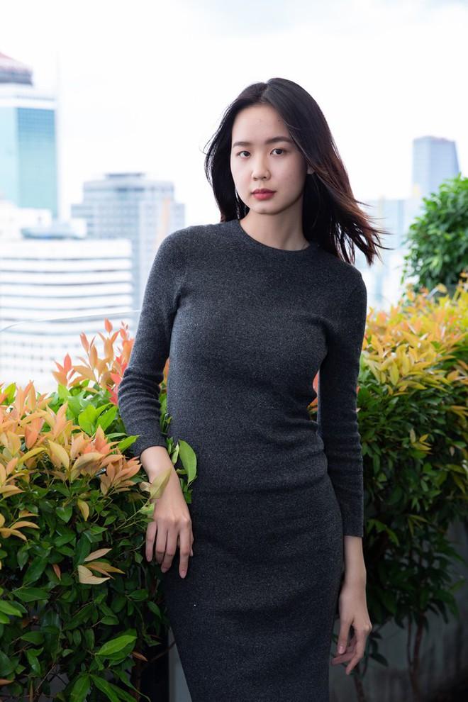 Thí sinh cao nhất Hoa hậu Việt Nam 2020 với 1m84: Vào Bán kết làm em bất ngờ và bối rối - Ảnh 3.
