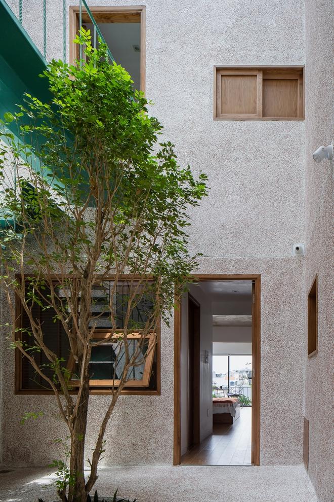 Lạ mắt với căn nhà có cầu thang xanh ngắt, bao phủ bởi khu vườn nhiệt đới - Ảnh 2.
