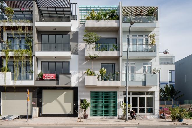 Lạ mắt với căn nhà có cầu thang xanh ngắt, bao phủ bởi khu vườn nhiệt đới - Ảnh 3.