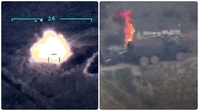 Armenia, Azerbaijan đối diện chiến tranh toàn diện: Thiết quân luật, tổng động viên - Xe tăng, trực thăng bốc cháy - Ảnh 2.