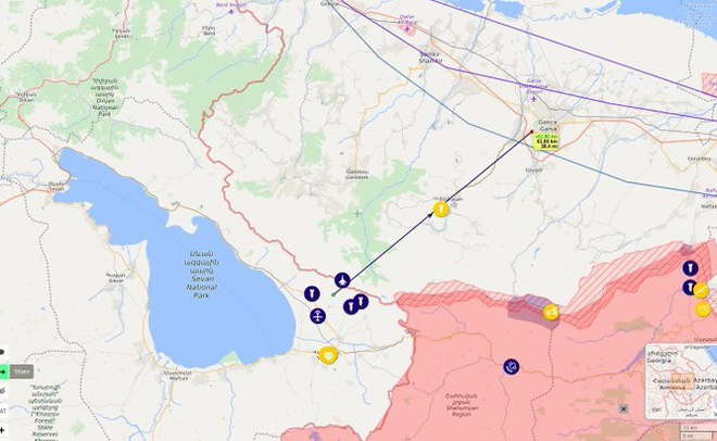 Tiêm kích F-16 Thổ Nhĩ Kỳ vừa bắn hạ 1 Su-25 Armenia - Chiến sự nóng rực, S-300 cơ động khẩn cấp - Ảnh 1.