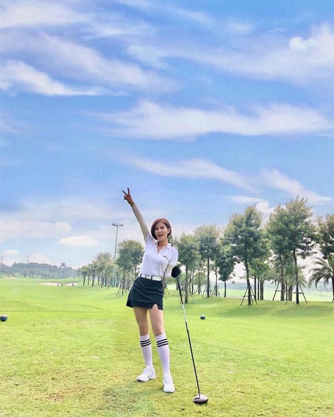 Chân dung nữ MC thể thao lỡ đi nhầm sân golf nên lấy được chồng - Ảnh 4.