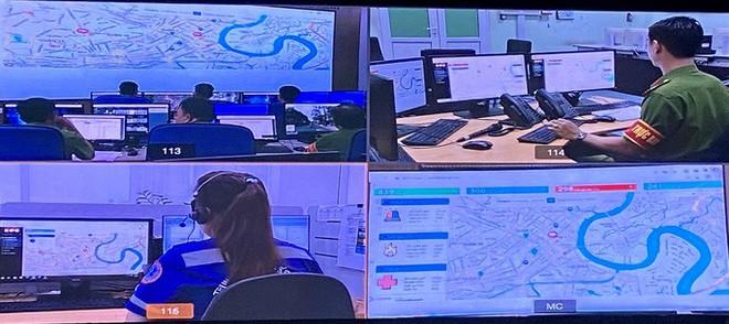 TP HCM chính thức nâng cấp và liên thông hệ thống tổng đài khẩn cấp - Ảnh 2.