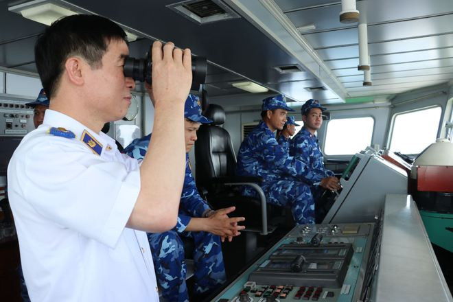 Những con tàu hiện đại của Cảnh sát biển Việt Nam - ảnh 7