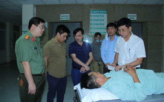 Đối tượng buôn ma túy đâm hai cán bộ Công an ở Lào Cai nguy kịch