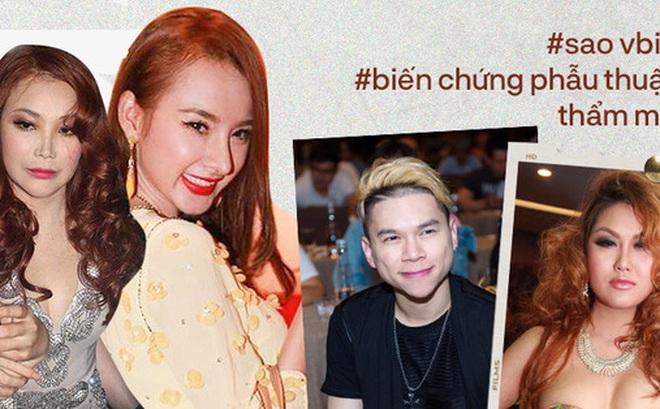6 sao Việt khổ sở vì 'dao kéo' biến dạng: Angela Phương Trinh lệch hẳn 1 bên mũi, Hồ Quỳnh Hương - Phi Thanh Vân gây choáng