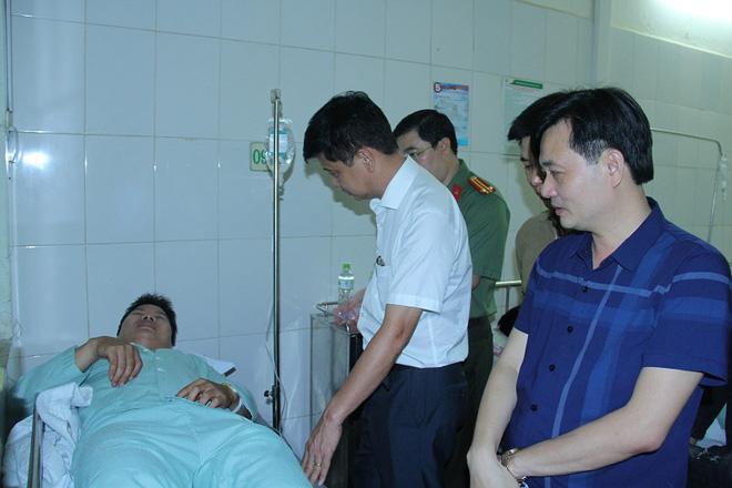 Đối tượng buôn ma túy đâm hai cán bộ Công an ở Lào Cai nguy kịch - Ảnh 2.