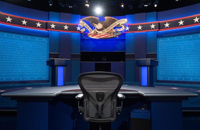 Buổi tranh luận đầu tiên giữa ông Trump và ông Biden: 90 phút chạm trán quanh 6 chủ đề nóng hổi - Ảnh 1.