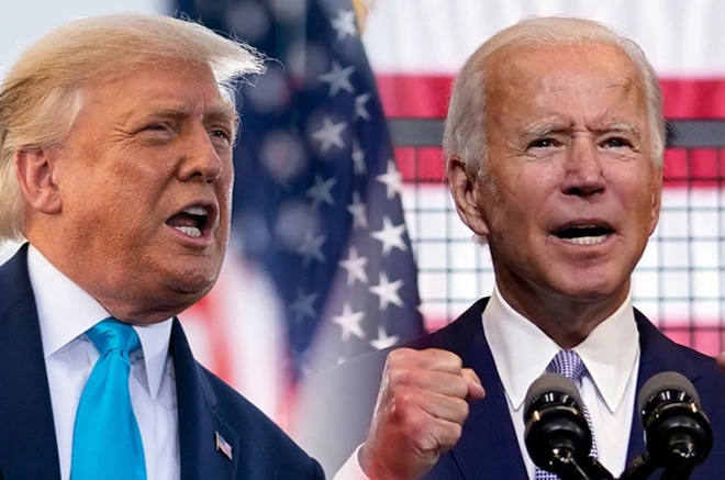 Những câu đối đáp nổi bật trong tranh luận đầu tiên của Tổng thống Trump và ông Biden - Ảnh 1.