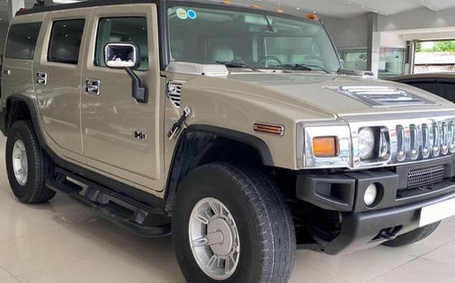 13 năm chạy 74.000km, 'khủng long' Hummer H2 vẫn có giá gần 2,7 tỷ đồng