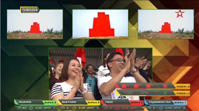 Việt Nam đấu chung kết Tank Biathlon 2020: Việt Nam bắn cực xuất sắc đã vượt lên dẫn đầu, tuyệt vời quá - Ảnh 2.