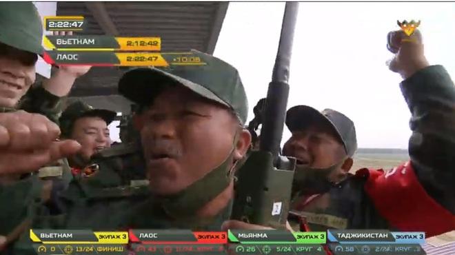 Việt Nam đấu chung kết Tank Biathlon 2020: Việt Nam Vô địch - Việt Nam cực xuất sắc - Việt Nam tuyệt vời quá - Ảnh 2.